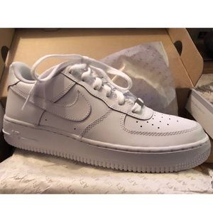 Nike Shoes - All White Airforce 1's